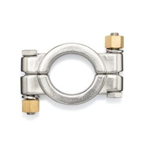 High Pressure Double Bolt Tri-Clamp