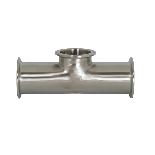 Buy clamp short outlet tee tees sanitary fittings