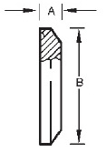 Solid Clamp End Dimensions