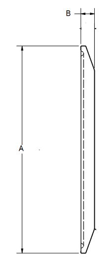 Tri-Clamp End Cap Dimensions