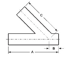 Butt Weld Lateral Dimensions