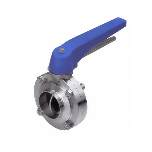 Butterfly Valve Clamp End with Trigger Handle