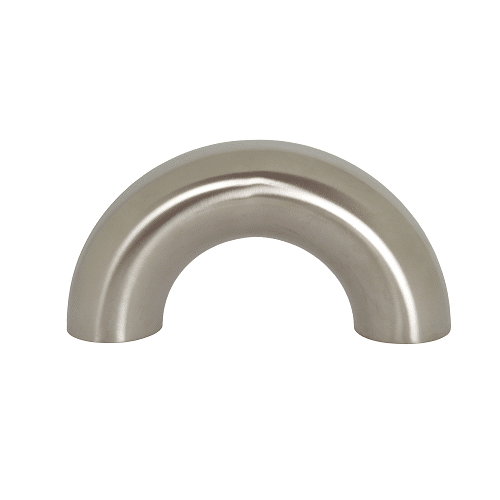Polished 180 Degree Return Bend