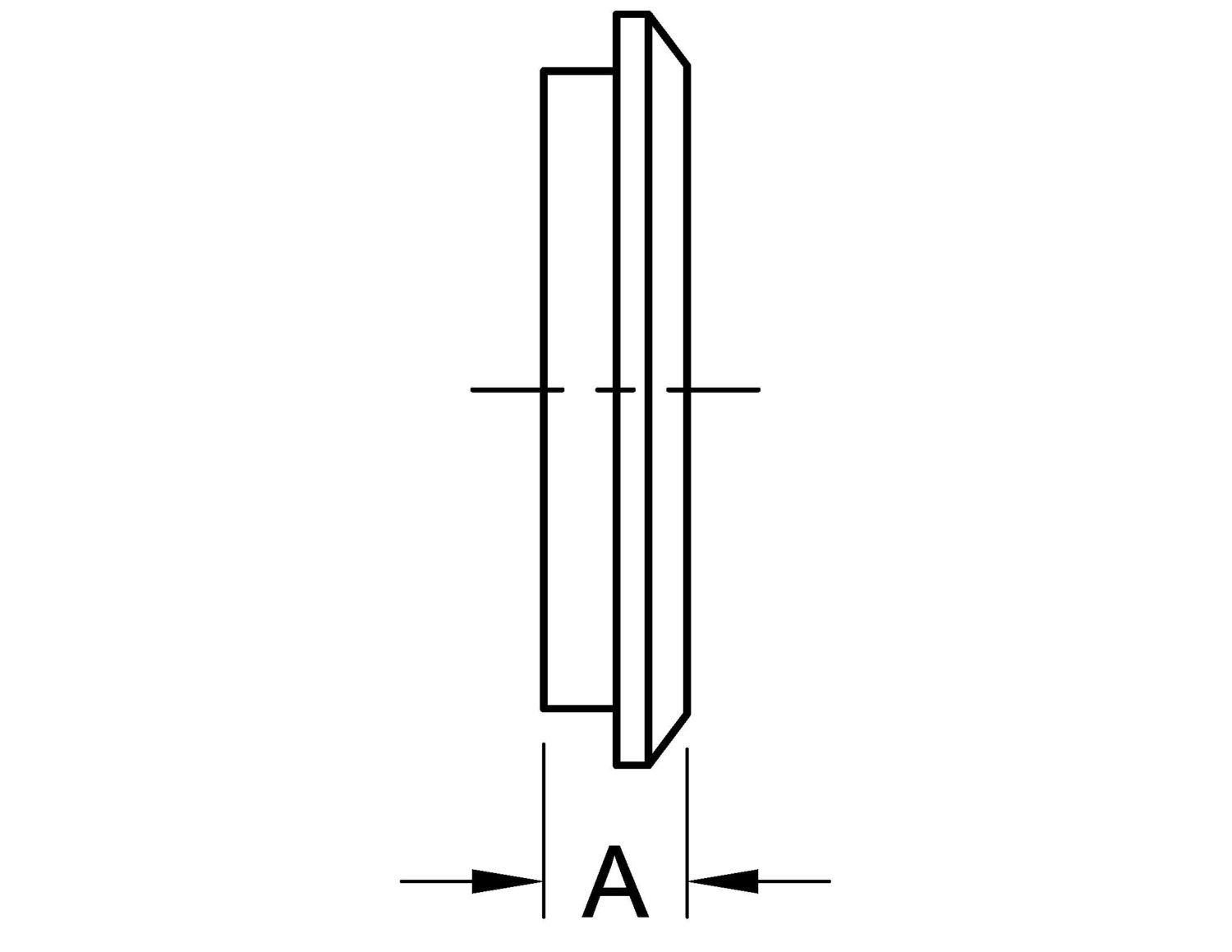 Male I-Line End Cap