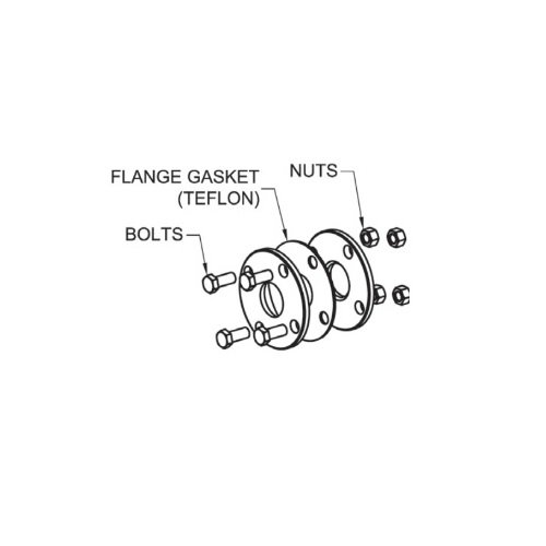 Flange Gasket Kit Set