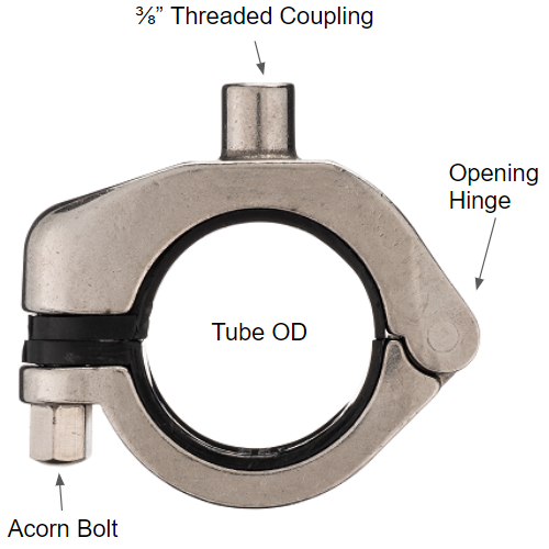 Threaded Tube Hanger Specs