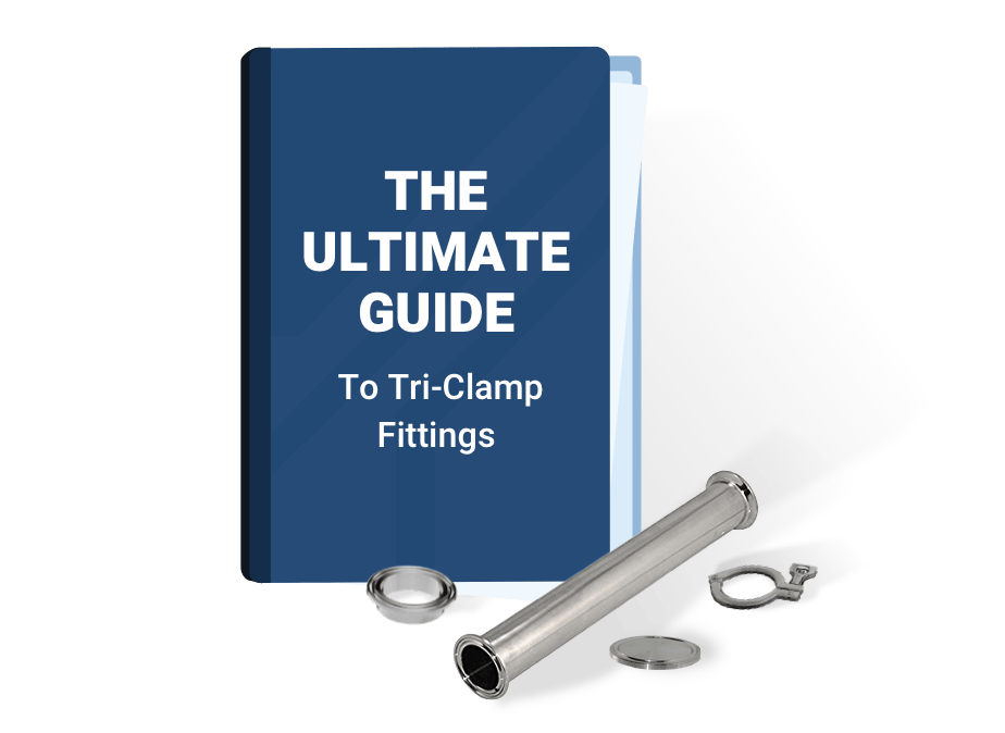 Book Cover - The Ultimate Guide - Tri-Clamp Fittings