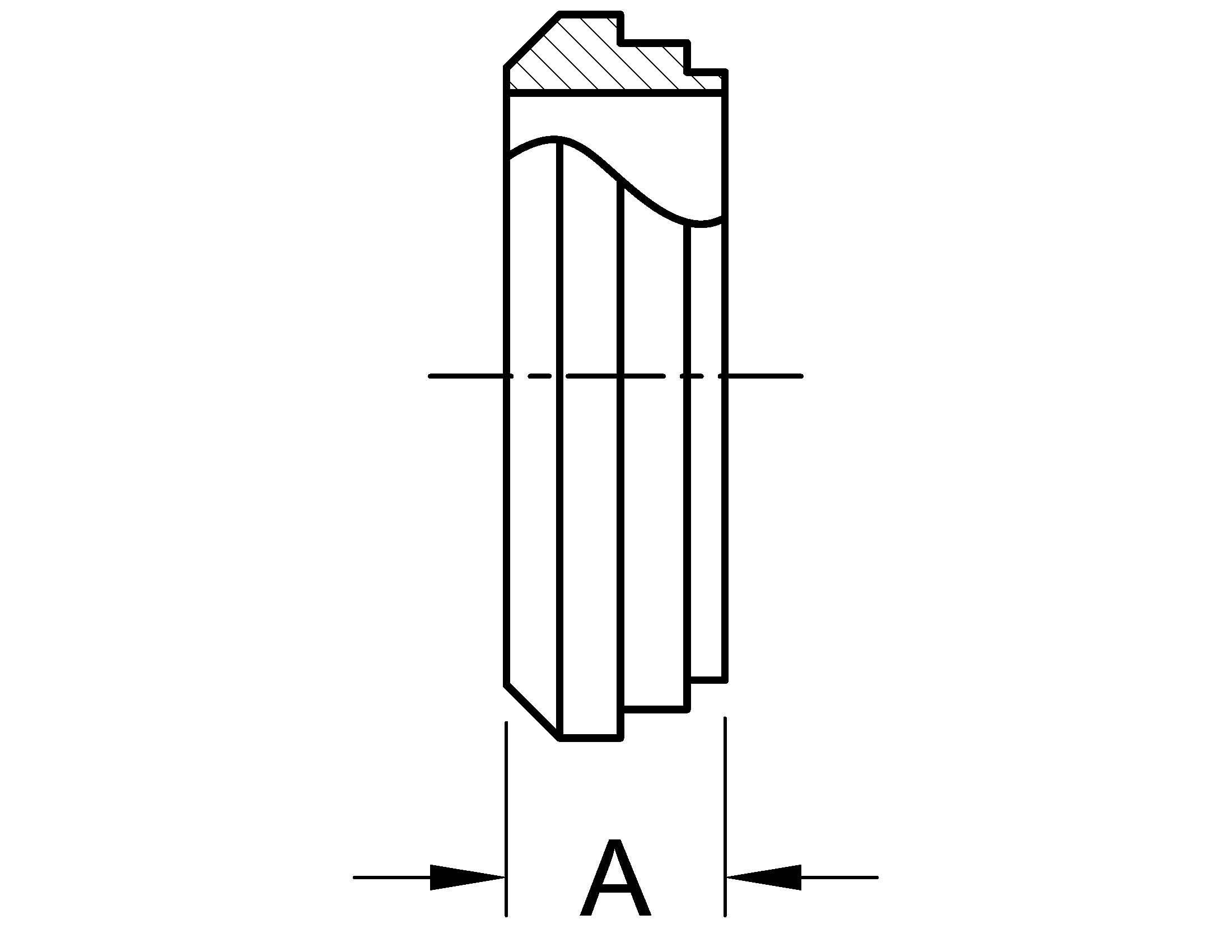 Short-Weld Bevel Seat Dimensions