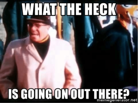 Vince Lombardi - What the heck?