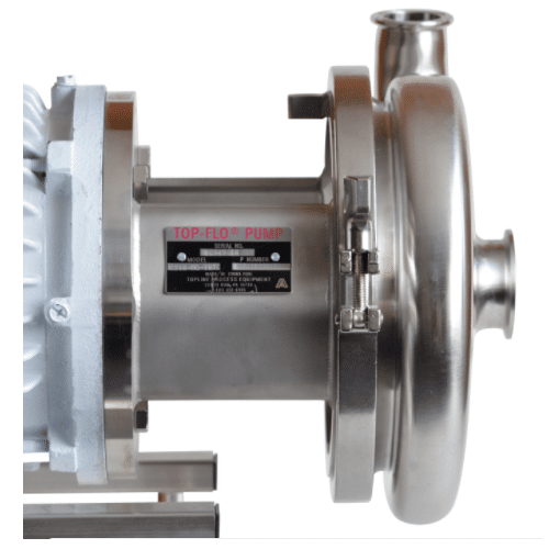 C218 Centrifugal Pump Side View